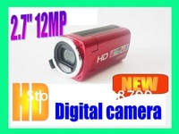"New 2.7"" 12.0 MP HD Digital Camera DV (Hemde Bu fiyata baska arzunuz?)"