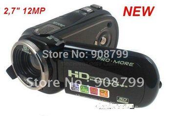 "New 2.7"" TFT 12.0 MP 720P HD Digital Camera DV video camera (Hemde Bu fiyata baska arzunuz?)"
