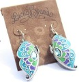 Free Shipping ! Wholesale High Quality Fashion European Style Butterfly Earring SM0747