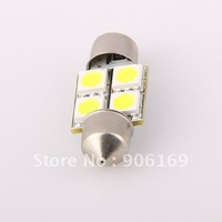 CAR WHITE 4SMD LED FESTOON DOME INTERIOR LIGHT LAMP NEW