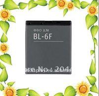 50PCS/LOT,1200mah,BL-6F BL6F lithium cellphone battery for N95(8G) N78 N79