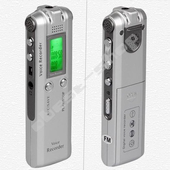 2GB 2G Digital Voice Recorder Dictaphone MP3 Player FM
