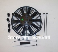 10inch 12v  Auto Radiator Universal Electric Cooling Fan and Kits