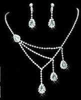 Free Shipping+Mix Different Items to Total 12 Units Each Order, Wedding Jewelry, Bridal Necklace, Wedding Necklace, NL00008
