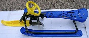 Children's ski car snow sleds  trotisnow Snow sledge sled Skiing board