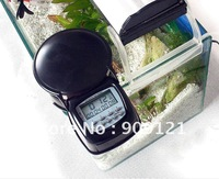 Sale Promotion !  Automatic Fish Feeder With LCD Clock Display  Blinking Red Light