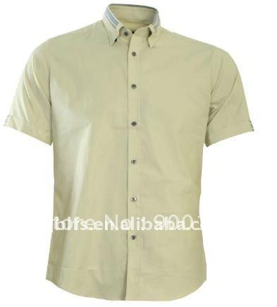 men's short sleeve shirt(China (Mainland))