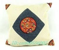 50pcs mesh weave embroidery,Traditional Chinese national style embroidery pattern,cushion cover bag pocket for sofa Cushion
