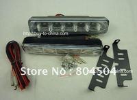 free shipping 5PCS 5050 0.35W lamp  LED daytime running lights