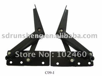 Metal sofa headrest hinge C09-1
