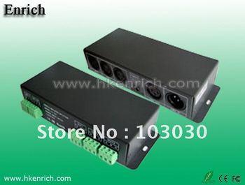 Free Shipping Digital signal mode  123 DMX Signal Amplifier LED DMX 512 controller