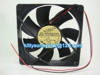 ADDA 12025 AD1212MS-A73GL 12V 0.34A DC Brushless Fan,Cooling Fan