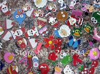 clearance sale !!!! S804 Wholesale Mixed alloy enamel charms 100pcs/lots random send