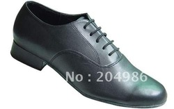 LD69-9008 Men genuine leather dance shoes latin dance shoe dancing shoe Free shipping(China (Mainland))