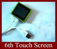 6TH Generation MP3 MP4 Player Real 4GB 1.8 Inch Touch Screen 30pcs EMS DHL Free Shipping To Everywhere