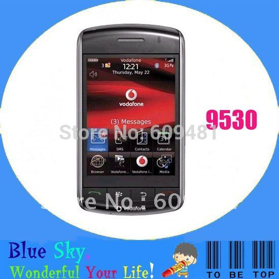 original refurbished blackberry phone storm 9530 touch phone unlocked(China (Mainland))