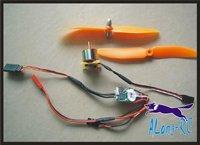 XXD1510 BRUSHLESS  MOTOR +10A ESC  SET/ for MINI airplane/rc model/MINI war  plane/good power