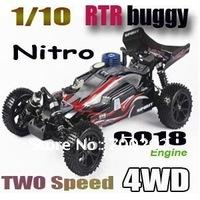 1/10 4WD off road Nitro remote control car