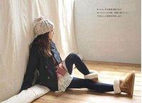100% Australia sheepskin winter snow boots for women