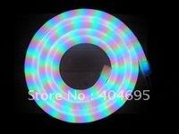 Free shipping 50m Flexible LED color colorful neon tube rgb flexible neon tube strip