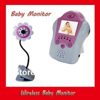 2013 Christmas gift for mommy and kid 1.5'' LCD  Wireless Baby monitor 2.4GHz digital video baby monitor gift with retail box