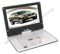 9.5 inch portable DVD player TV Tuner USB/SD/MMC/MS Rotating