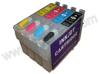 T1351 T1332-T1334 20sets/lot NEW empty Refillable ink cartridges for Epson T25 TX123 TX125  with ARC chip  free shipping