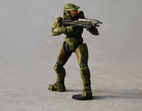 Free shipping Halo Sergeant 3 inch classic original color edition/pvc figure/hot toys/hot  figure/Christmas gift/New Year gift