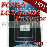 Free shipping!FOTGA PRO LCD optical Glass Protector for Nikon d80 6 Layers wholesale offer OEM