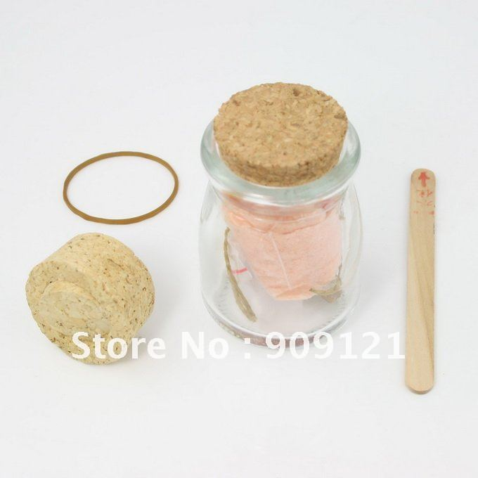 Best Wishes ! DIY Growing Crystal Powder Jar Best Wish Lucky Red Perfect Novelty Gift Gor Your Loved Ones(China (Mainland))