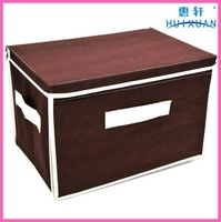 NEW Foldable Storage Box, Non-woven + cardboardClothing Bag, Home Storage Box