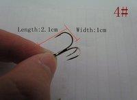 Super price,New high quality Triple Grip Fishing Treble Hooks Size 4#,fishing anchor hook,,500pcs/lot,free shipping