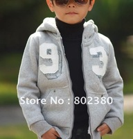 hot sale  Free shipping 2011 new style lively fashion  boy comfortable jacket for winter,boy  cotton coat
