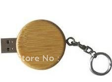 Circle Shaped 100% Capacity Wood Usb Key Usb Flash Disk , usb drives, usb flash(China (Mainland))