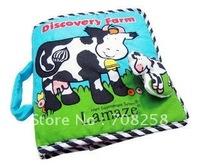 "1PCS, Lamaze Cloth Book,Baby Book,""Discovery Farm"",  #40"