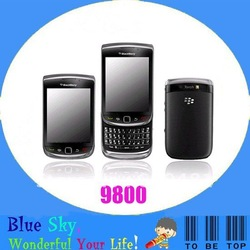 original phones blackberry 9800 Torch Blackberry OS 6.0(China (Mainland))