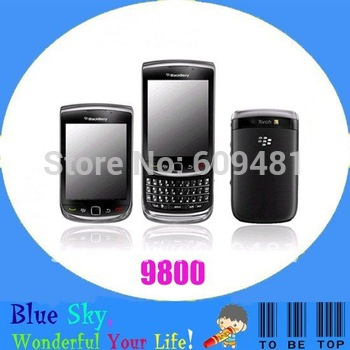 original phones blackberry 9800 Torch Blackberry OS 6.0 MP3 MP4 Player Free shipping