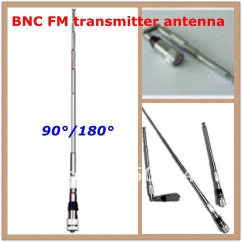 freeshipping new Professional FM Transmitter radio broadcast short Antenna BNC 87Mhz(China (Mainland))