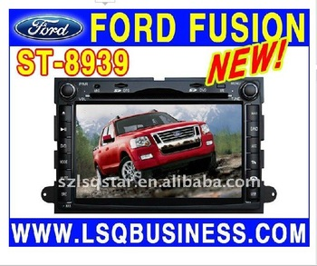 Ford explorer/ Ford fusion/ Mustang car dvd with gps/ Radio/ CDC/PIP/ ipod/ tv/ bt/Canbus steering, good quality