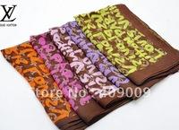 fFree Shipping 10pcs Fashion Women's Chiffon Scarf Letters scarf