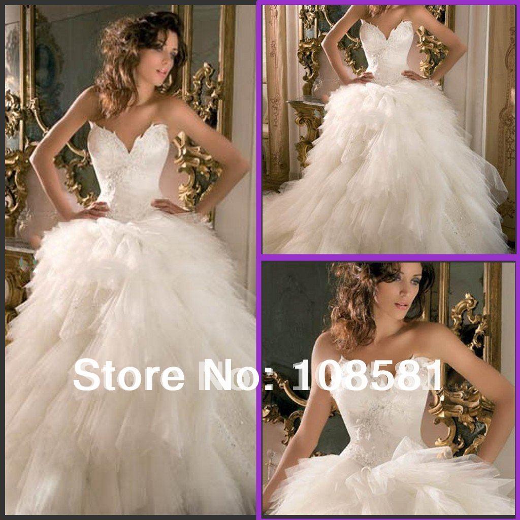 Bustier Top Wedding Dress Viewing Gallery