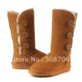 Free shipping Winter Thicken Artificial Short Plush Snow Boots Shoes For Women 25CM 350G Black Coffee Beige Brown Pink