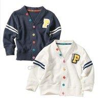 HOT Selling!Free shipping wholesale New cotton autumn children cardigan,kids wear,children coat,boys ,baby clothing,boys