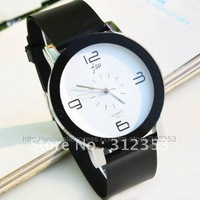 10PCS/LOT Fashion neutral Watch Lady boys and  Girls Women's  men's Quartz Cartoon Leather Band Diamond Watch factory price