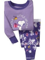 Wholesale Cheap Children Clothing Sets ,girls pajamas,children sets/kids sleepwear,Free shipping 6sets/lot sy2201