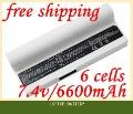 [Специальная Цена] Новый 6-элементная аккумуляторная батарея Для ноутбука ASUS Eee PC 901 904HD 1000 1000H 1000HD Серии,