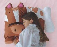 6pcs/lot Doomagic Free Shipping Children Pets Pillowcase Children's pillow case,pillow cover,pillow slip Animals(6 styles)
