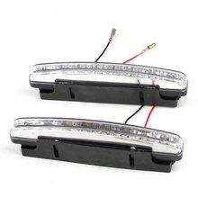 8 LED Waterproof E4 Daytime Running Lights DRL Car 2387(China (Mainland))