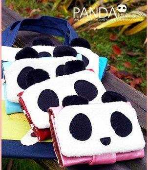 Hotsale+Panda wallet/Cartoon wallet/Gift purse /Lovely/Free shipping