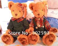 "16""  lovers bear,christmas bear,plush toys,plush bears,Christmas gift,new year gift"
